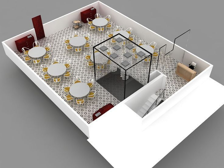 Design Proposal for restaurant in Hyderabad - India | Ninad ...