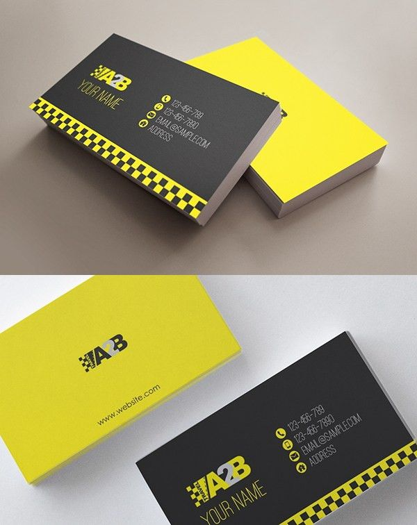 12+ Taxi Business Card Templates | Free & Premium Templates