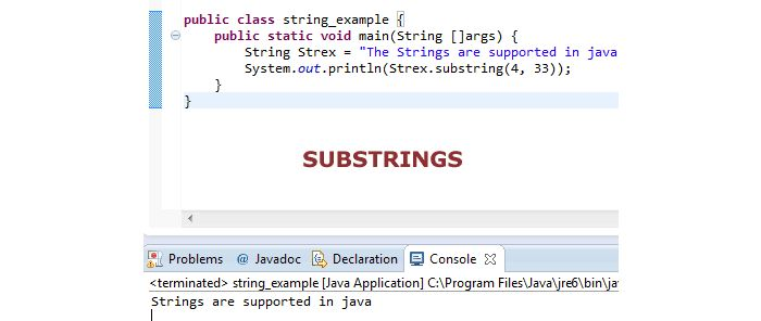 How to use Java substring Method with 2 Examples | Tutorials ...