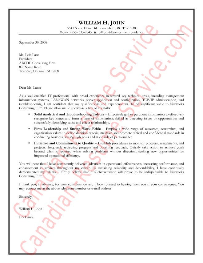 Outstanding Information Technology Cover Letter 16 Letter For ...