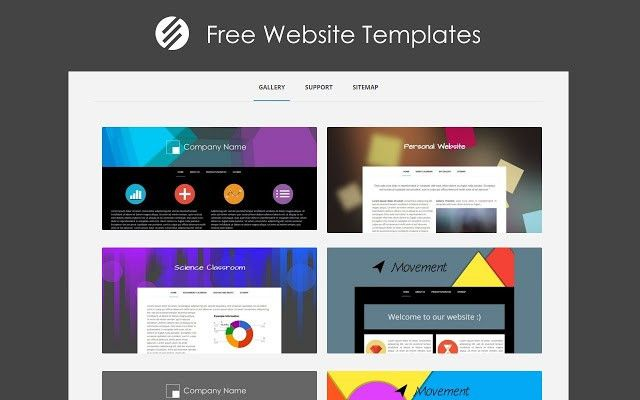 Free Website Templates - Chrome Web Store