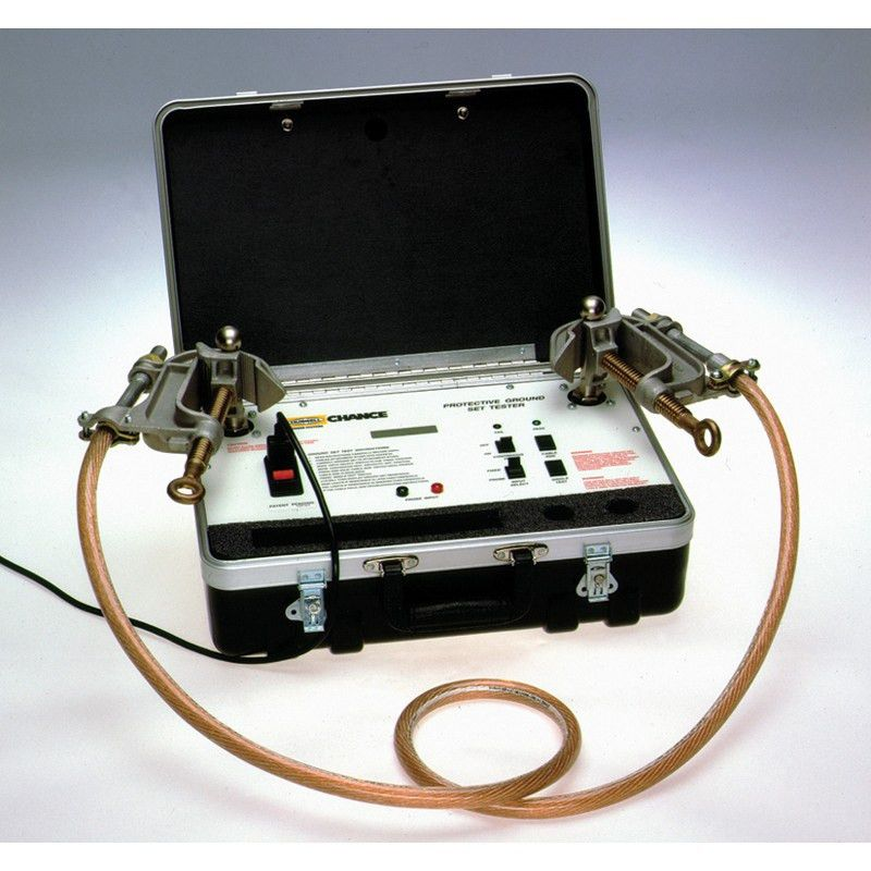 Electrical Ground Set Tester - Mitchell Instrument Company