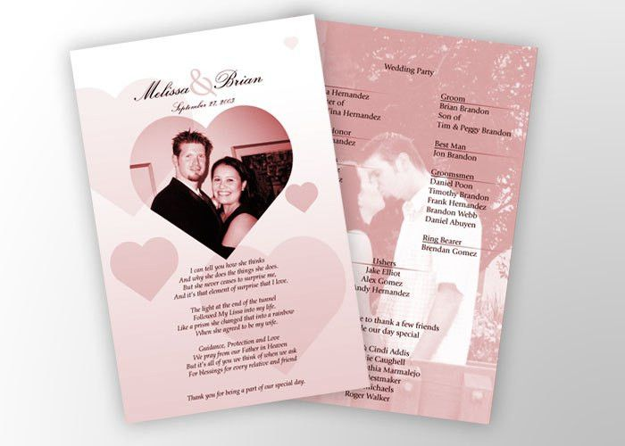 Wedding Programs | Cheap wedding programs, Wedding programs and ...