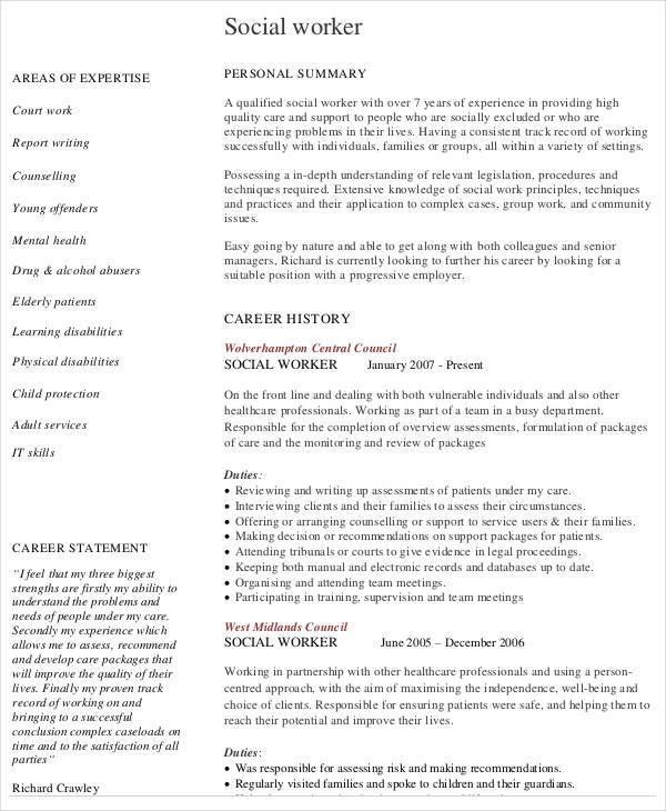 24+ Best Work Resume Templates | Free & Premium Templates
