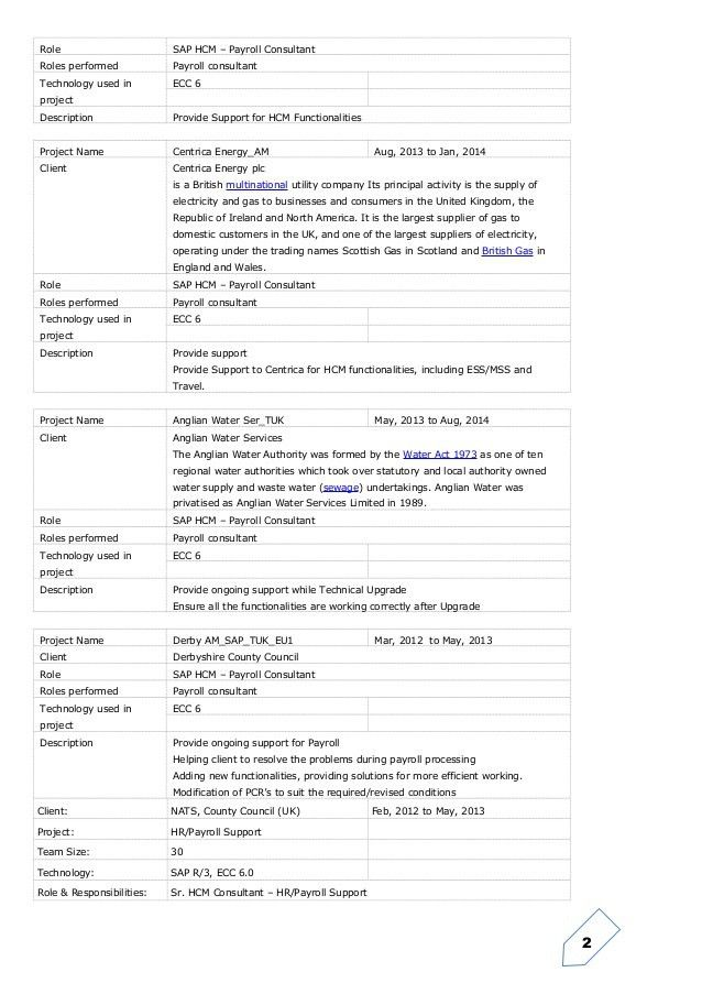 Junior sap consultant resume sap fi cv sample sap abap resume