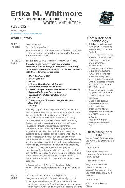 8 Non Profit Board Of Directors Resume Sample Resume sample resume ...