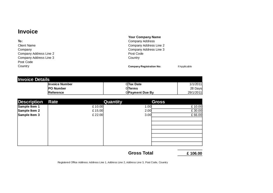 Proforma Invoice - Proforma Invoice Definition &Templates in Word ...