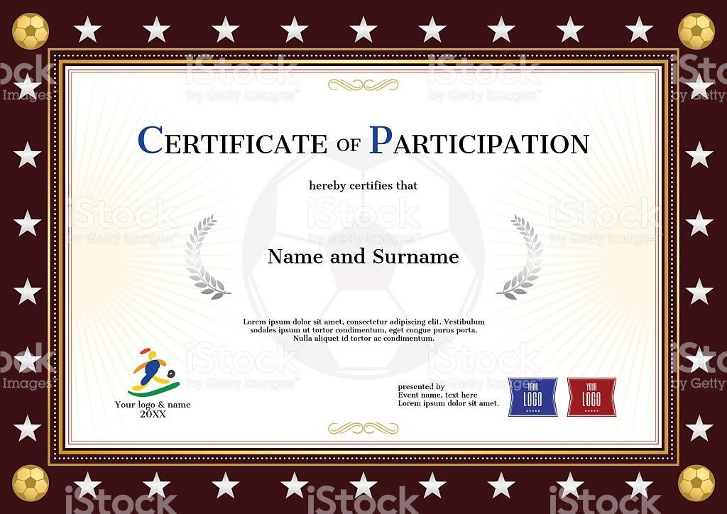 100+ Certificate Of Participation Templates Free | Template Free ...