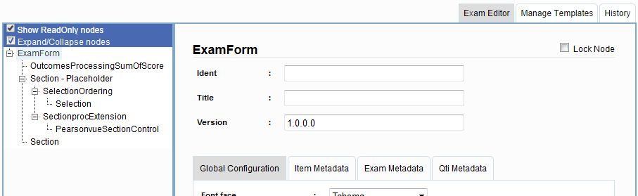 4.1.11.5 Apply Exam Form Template on the Delivery Configuration ...