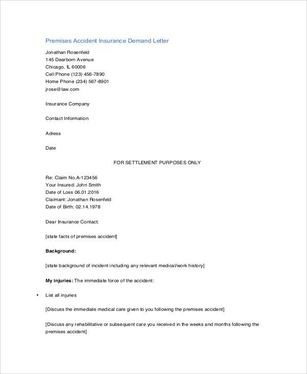 Sample Demand Letter - 7+ Documents in PDF, Word