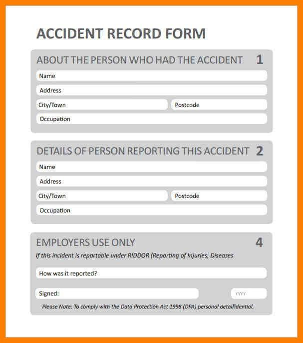 Sample Report Format. Sample Incident Report Format Employee ...