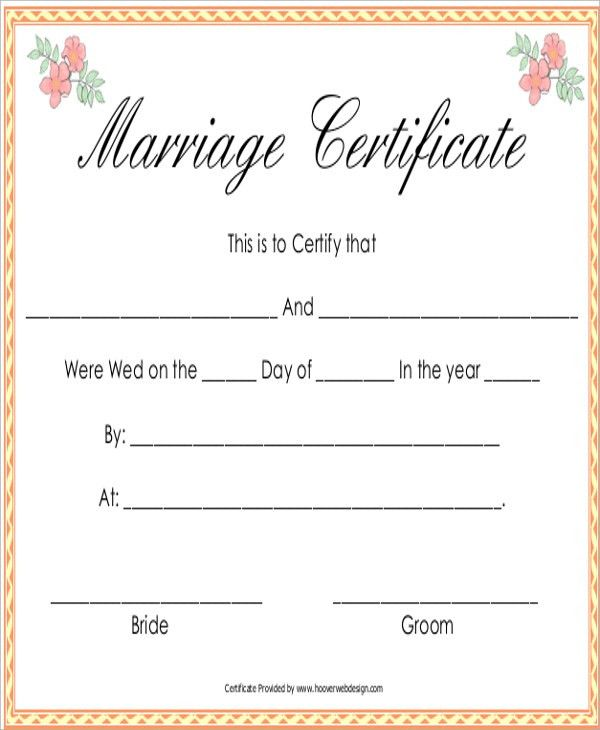 Free Printable Fake Divorce Papers [Template.billybullock.us ]