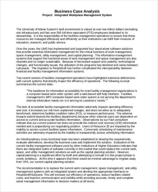 Management Analysis Sample. Job Analysis Report Sample Job ...