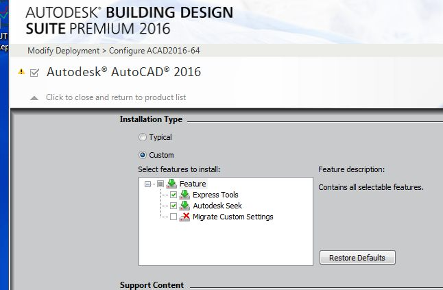 Missing reset AutoCAD 2016 to default shortcut? - Autodesk Community