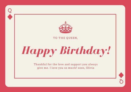 Birthday Card Templates - Canva