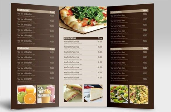 Catering Menu Template Free [Template.billybullock.us ]