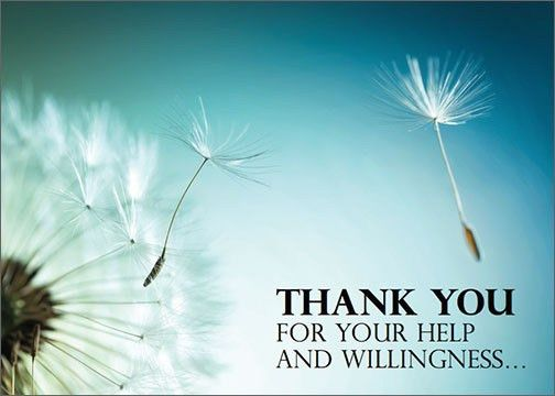 THANK YOU for your help and willingness… | MJC