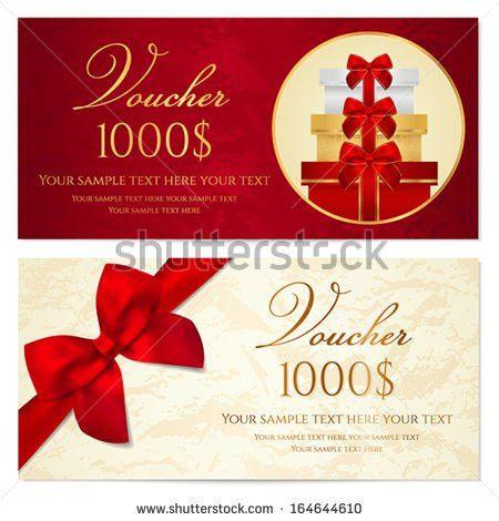 Gift voucher design free vector download (2,742 Free vector) for ...