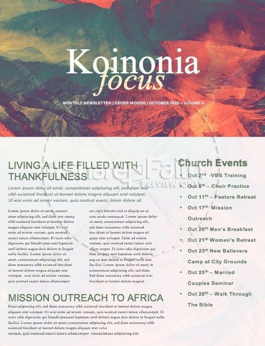 Church Newsletter Templates. holiday newsletter templates project ...