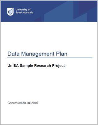 Data Management Planning