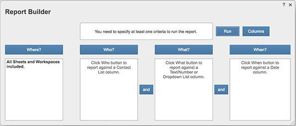 Creating Reports | Smartsheet Help Articles