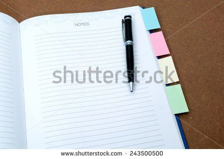 Paper Sheets Pile Abstract Written Text Stock Vector 506503369 ...