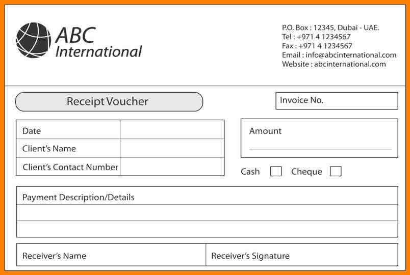 5+ payment receipt voucher sample | resume language