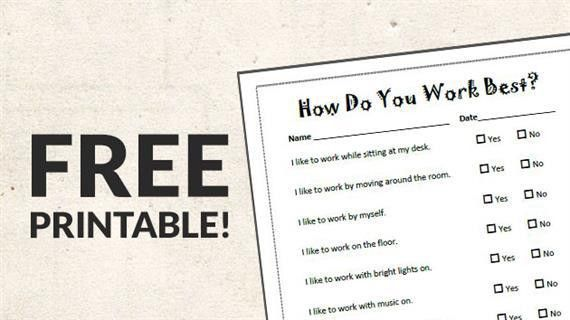 Free Printable: Learning Style Survey - WeAreTeachers