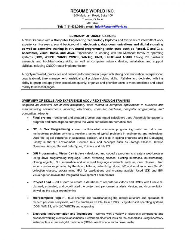 Resume : Information Technology Resume Template Forever 21 Resume ...