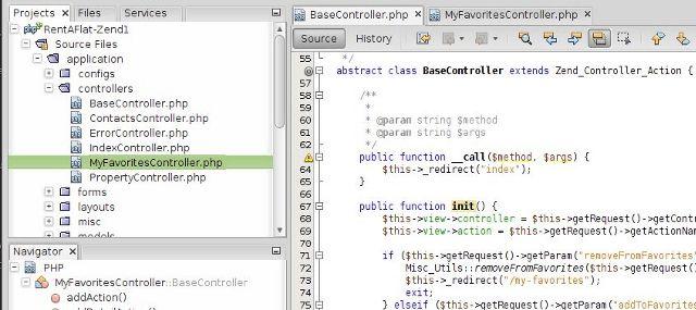 NetBeans IDE - PHP Development