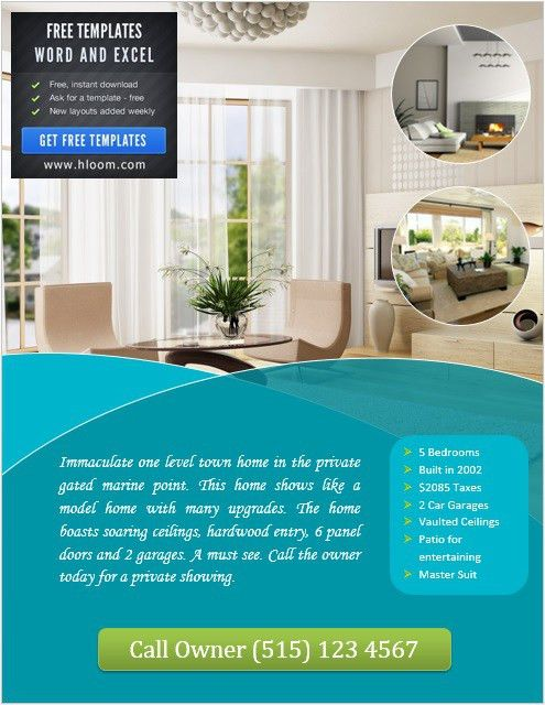 8 Free Sample Real Estate Agent Flyer Templates – Printable Samples
