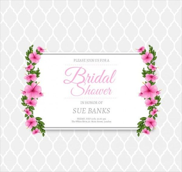 9+ Bridal Shower Invitation Templates | Free & Premium Templates