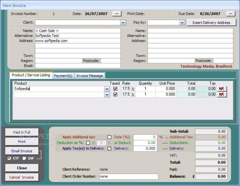 Download Access Invoice Database Free Download | rabitah.net