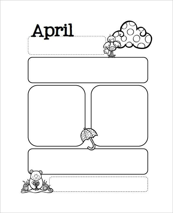 13+ Printable Preschool Newsletter Templates - Free Word, PDF ...