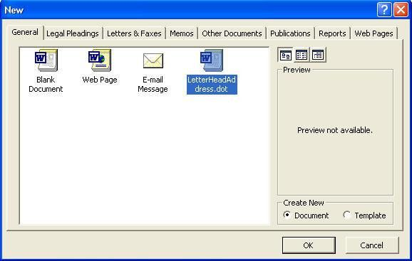 Microsoft Word Lessons and Tutorials - Create a Template in ...