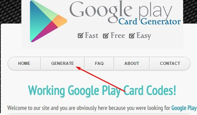 Working Google Play Gift Card Online Code Generator | Hacks and ...