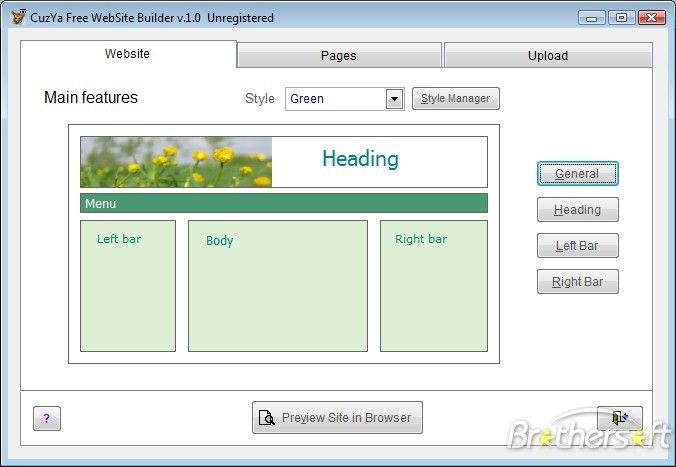 Download Free CuzYa Free Website Builder, CuzYa Free Website ...