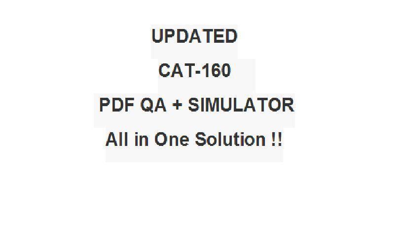 CA Technologies SiteMinder r12 Administrator Exam CAT-160 Test QA ...