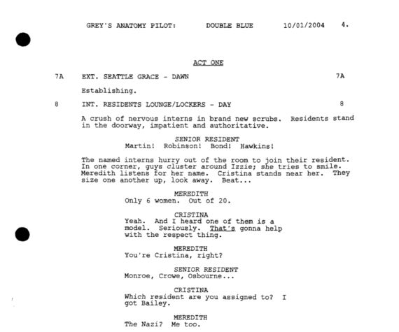 The Screenwriter's Simple Guide to Formatting Television Scripts ...