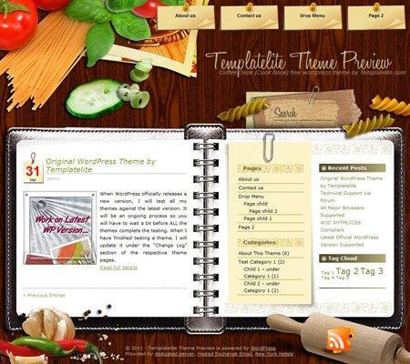 10 Best Images of Cookbook Templates Free Downloads - Free ...