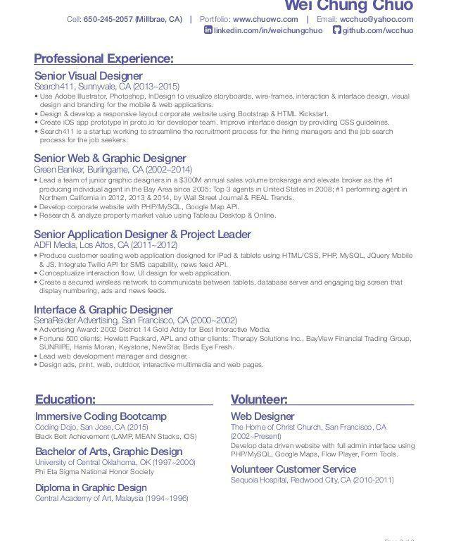 multimedia developer resume developer resume multimedia designer