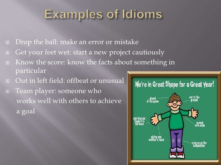 Colloquialisms, idioms, & slang module 2 my slide