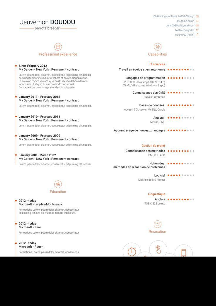 13 best Free Resume/CV Templates images on Pinterest | Cv template ...