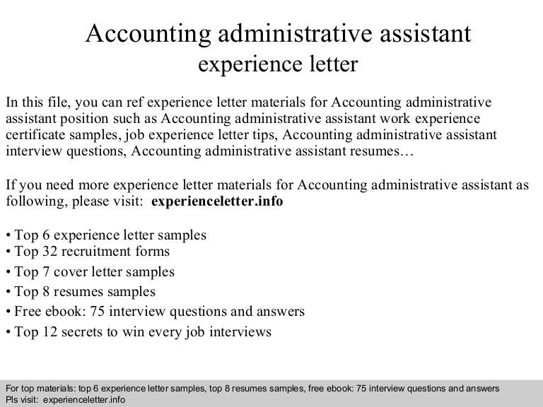accountingadministrativeassistantexperienceletter-140822042618-phpapp01-thumbnail-4.jpg?cb=1408681603
