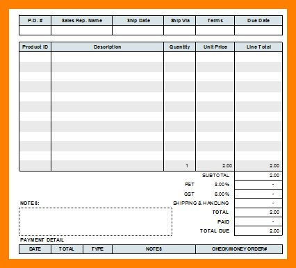 11+ blank store receipts | coaching-resume