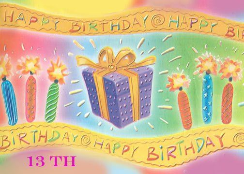 Free Printable Teenage Birthday Cards and Wordings