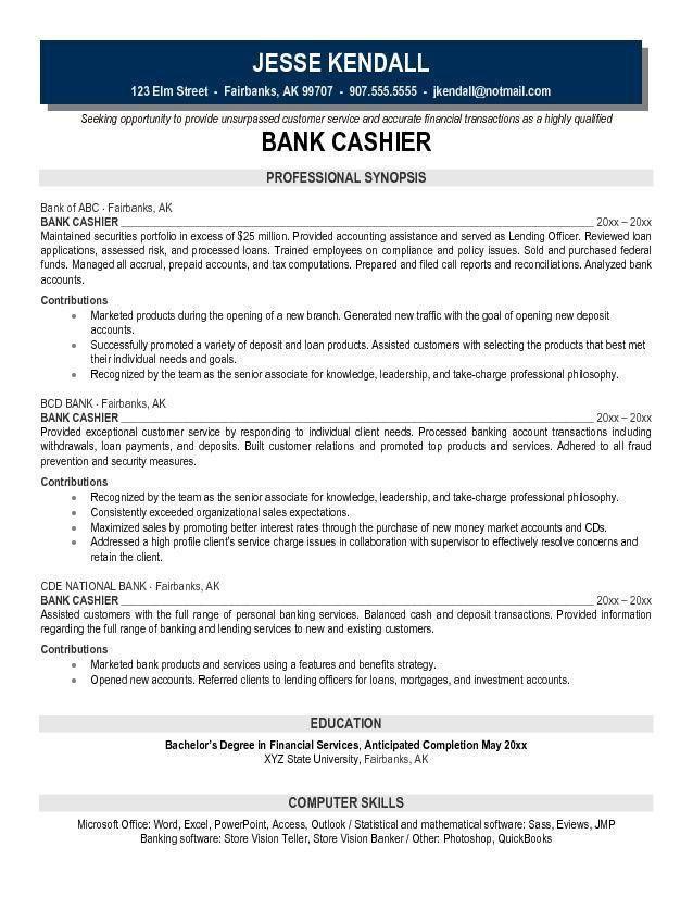 Cashier Resume Objective | berathen.Com