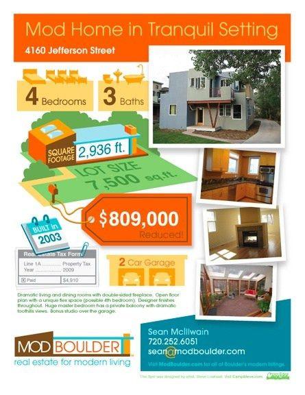 21 best Real Estate Flyer Ideas images on Pinterest | Real estate ...