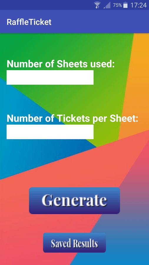 Raffle Ticket Generator - Android Apps on Google Play