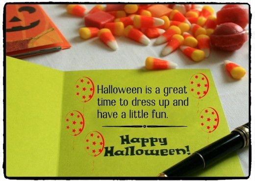 Halloween Messages, Jokes, and Poems to Write in a Card | Holidappy
